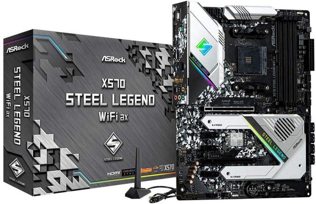 ASRock X570 Steel Legend WiFi
